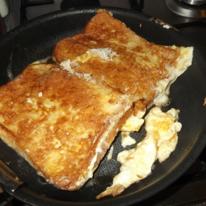 French Toast, An Alternative To The Fry-Up