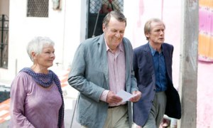 Golden age … Judi Dench, Tom Wilkinson and Bill Nighy in The Best Exotic Marigold Hotel